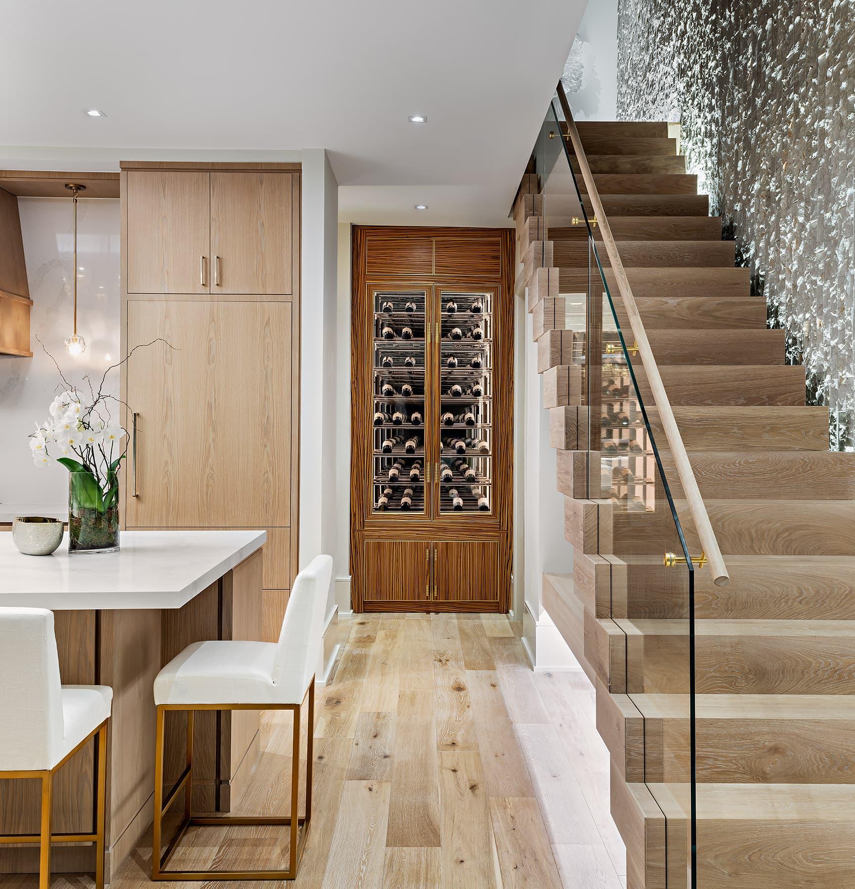 Modern Lake House Design: ONE X ONE DESIGN INC